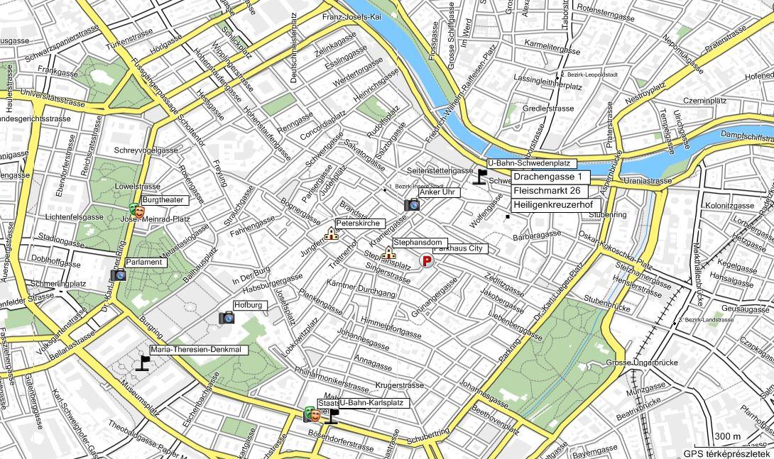 bécs belváros térkép Untitled Document bécs belváros térkép